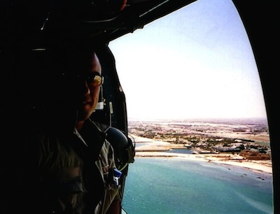 The Doc over Kuwait City
