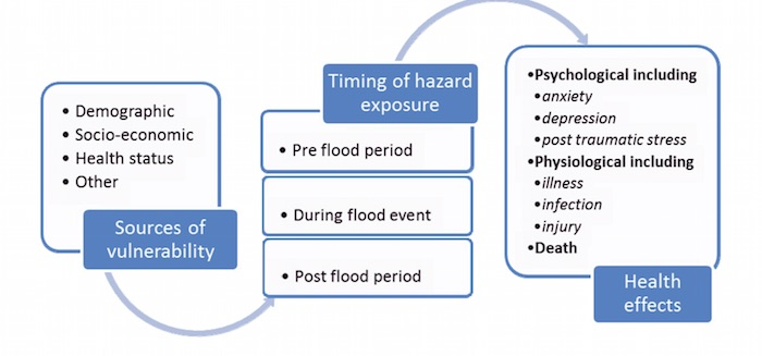 flowchart effects of flooding