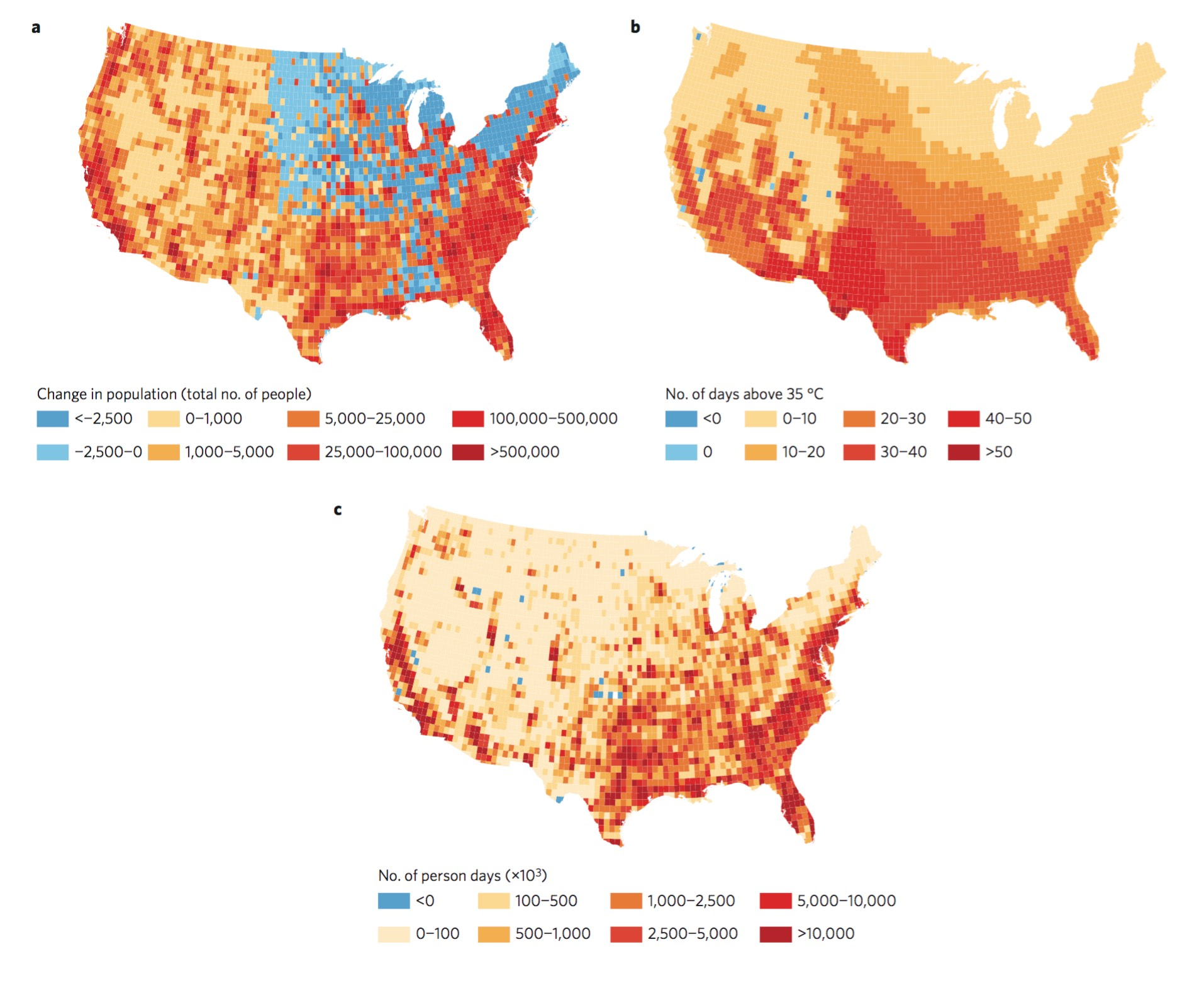 Climate Change Deadly Heat And You The Climate Advisor - Projected heat map of us
